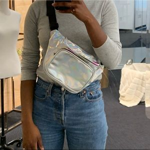 Iridescent fanny pack (NWOT)
